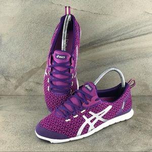 Asics Metrolyte Gem Walking Shoes Size 7 EUC